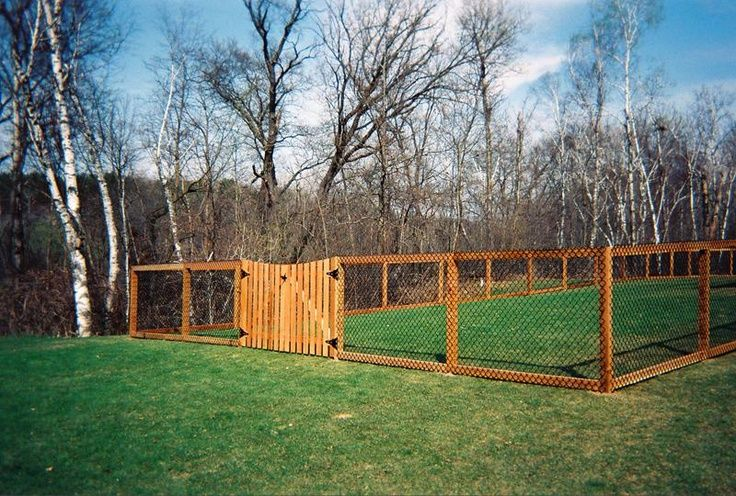 Dog Fence Ideas For Backyard